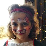 Kitty Cat Face Paint