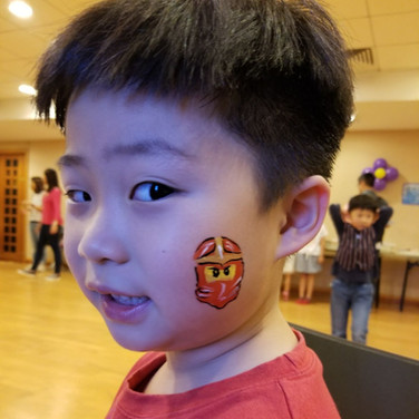 Ninjago Face Paint