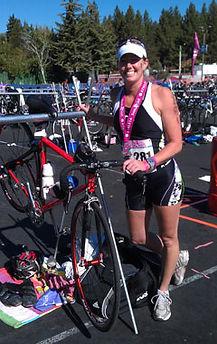 diana at triathlon