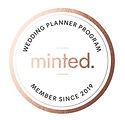 Minted Wedding Planner Program