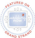 Wedding Row Grand Strand Featured Badge