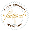 A Low Country Wedding Feature Badge