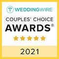 2021 Wedding Wire Couple Choice Awards