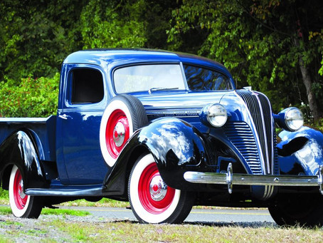 Blue Collar Beauty – 1937 Hudson Terraplane