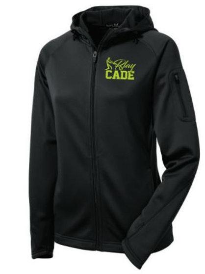 C - Sport-Tek Ladies Fleece Zip Hoodie