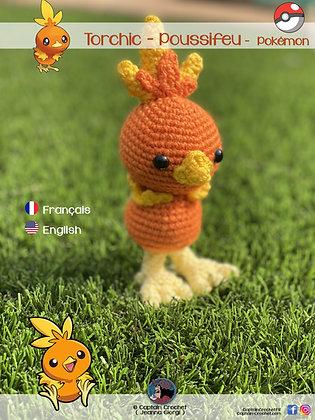 FR - Patron Poussifeu Pokemon - Captain Crochet FR PDF
