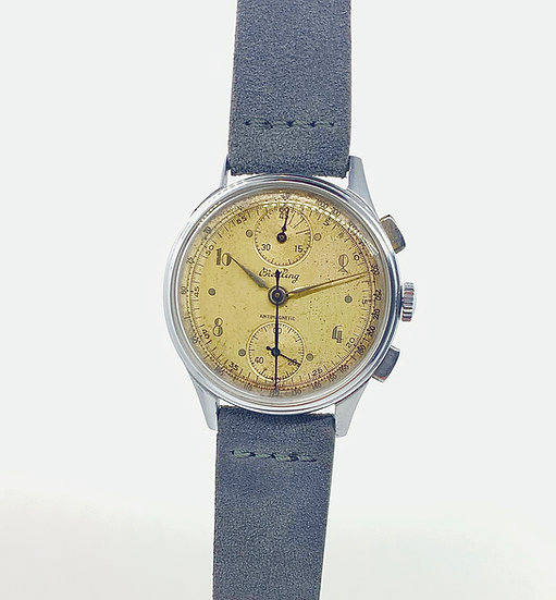 Rare 1940s Breitling Populaires Chronograph Reference 178