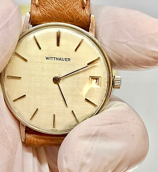 1950s Wittnauer Manual Wind C11M with a Linen Dial