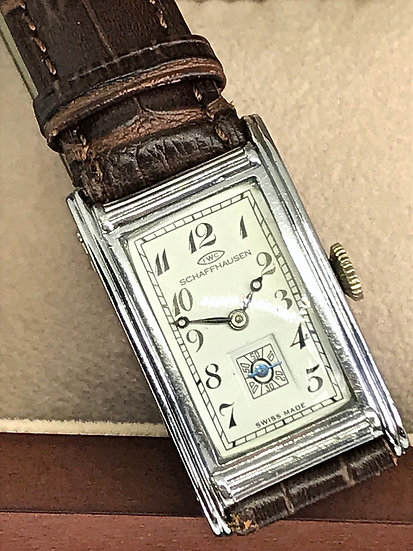Ultra Rare IWC Tank with Breguet Hands from the 1930s