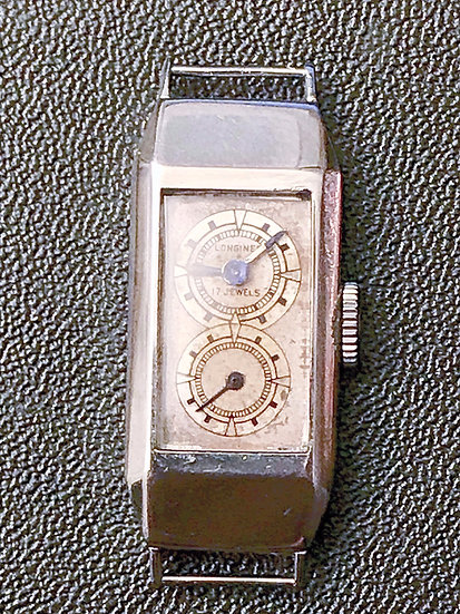 Ultra Rare Longines Doctor's 'Duo Dial' Watch with Archival Extract