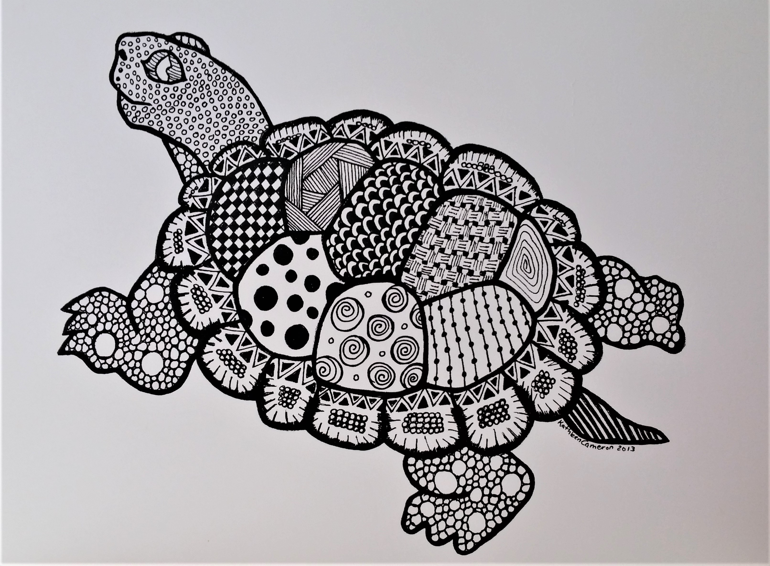 Ink turtle