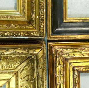 art conservation, frame restoration, gold leafing, gilding