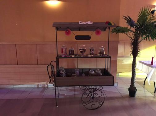 Candy bar Bois/fer forgé