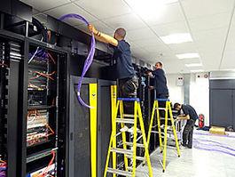 fibre ip data rooms cctv server