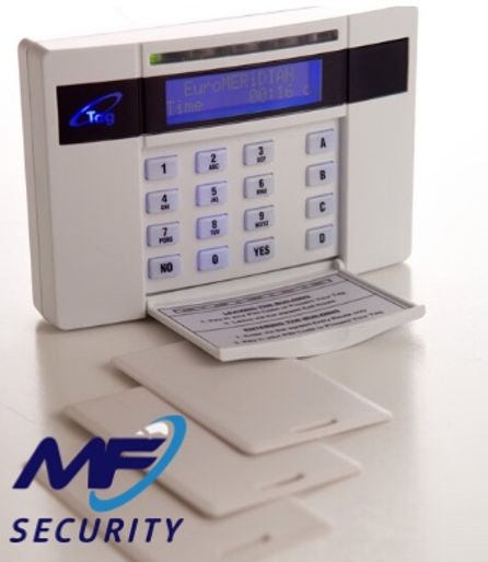 home alarm installation using a pyronix enforcer panel which is wireless and affordable