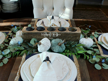 ~Creating a Fall Tablescape~