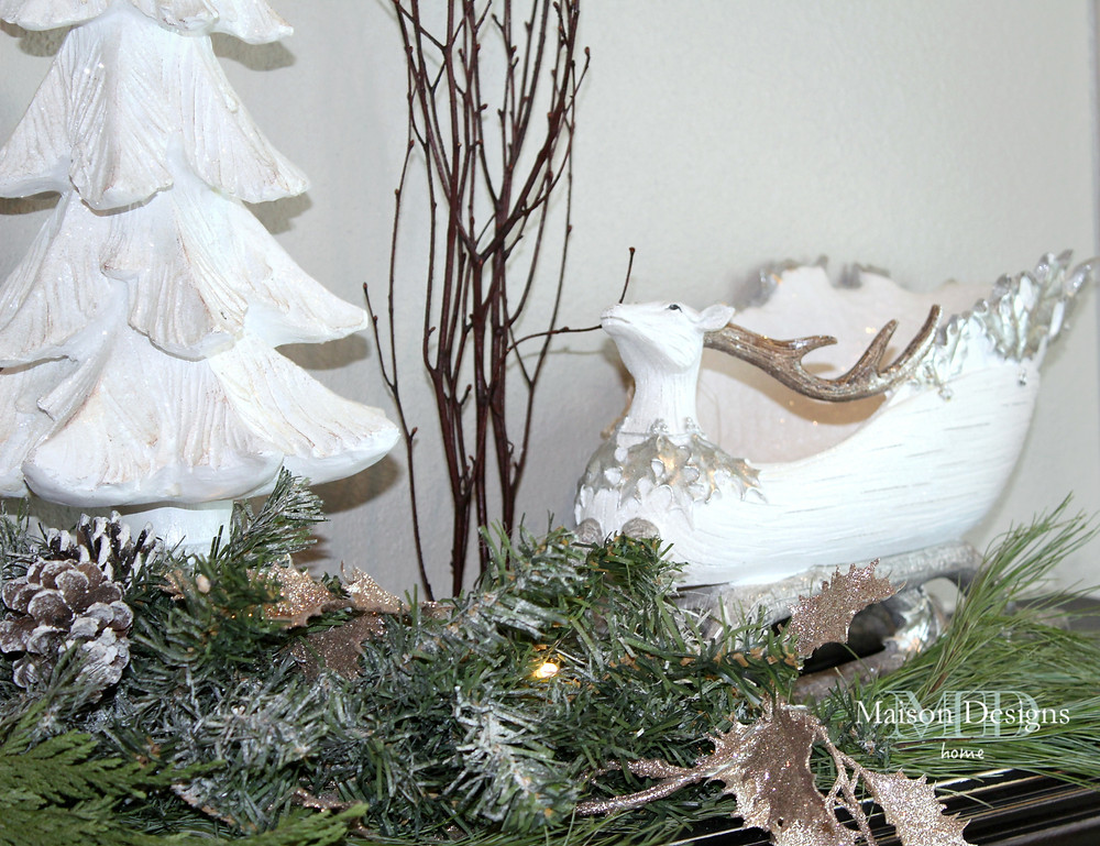 A Narnia~Inspired Christmas Mantle