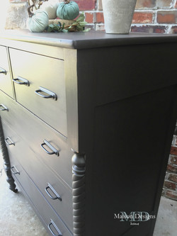 Century Old Dresser Paint Makeover