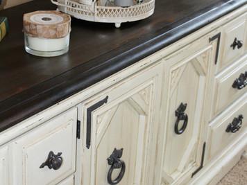 Vintage Dresser~A Paint Love affair makeover