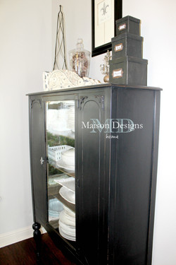 New Dining Room black hutch wm
