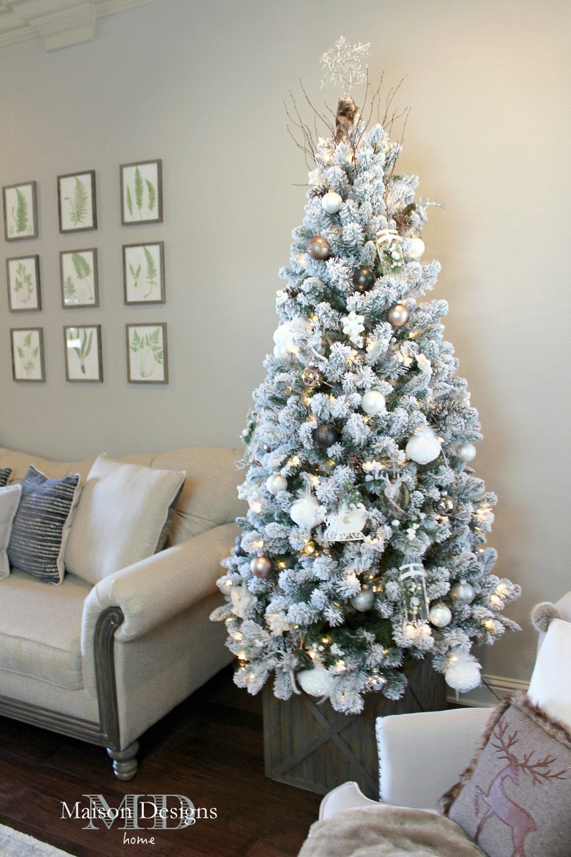 Narnia-Inspired Christmas Tree