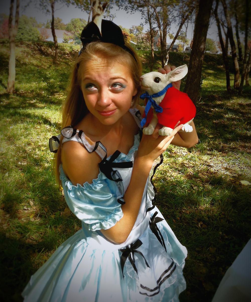 Lauren and the rabbit.jpg