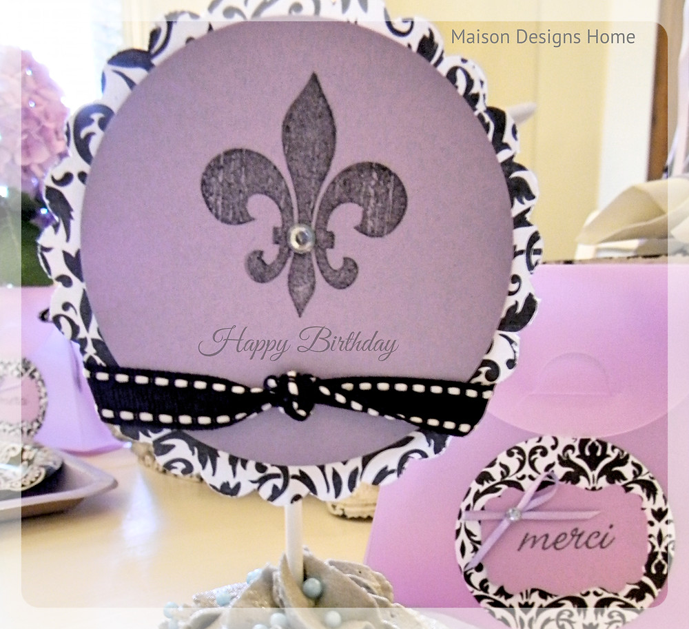 Ooh La La Party by Maison Designs Home