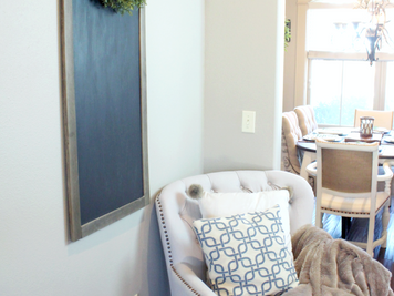 January Renew & Decorating with Blue