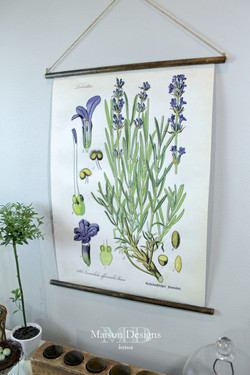 DIY Lavender Wall Art