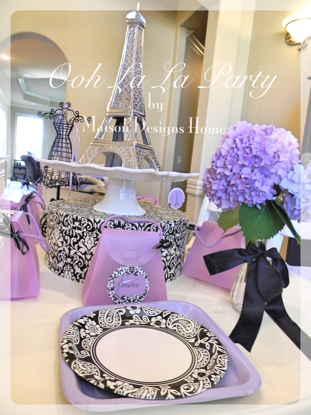 Ooh La La Party by Maison Designs