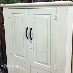 ~Knotty Pine to French Cottage~                   A Painted Furniture Story