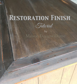 Staining Finish Tutorial