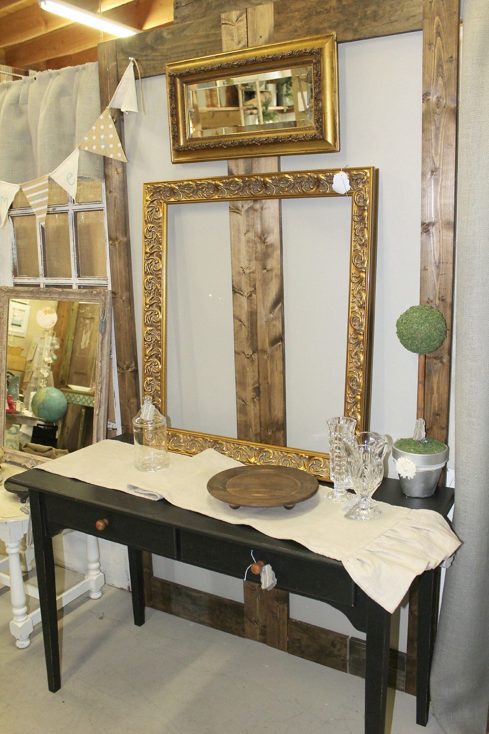 French Farmhouse Antique Booth - Maison Designs Home