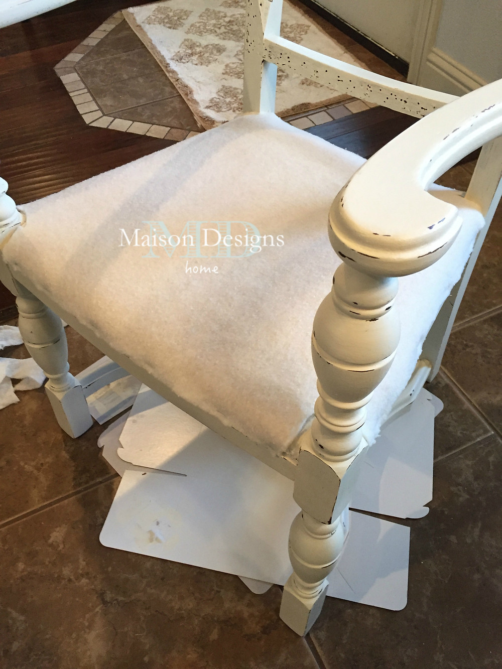 French Country Chair Tutorial Maison Designs Home