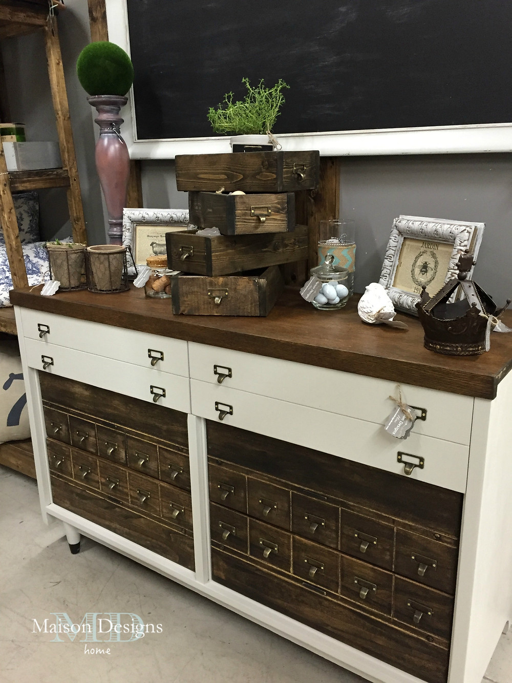 Apothecary Cabinet ~ Maison Designs Home