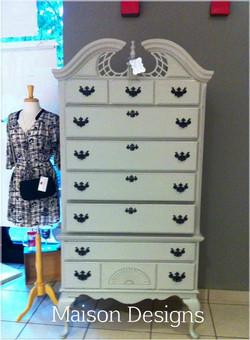 Maison Designs Chateau Gray  Dresser