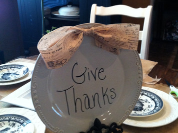 """Everyday is a good day to """"Be Thankful"""""""