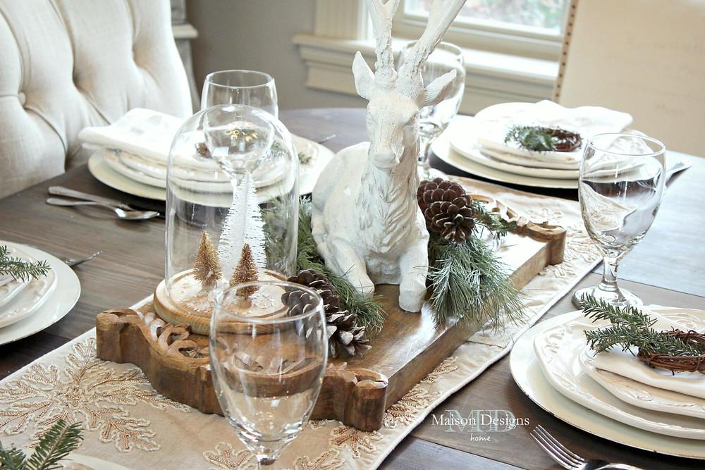 Narnia Inspired Christmas Dining Room