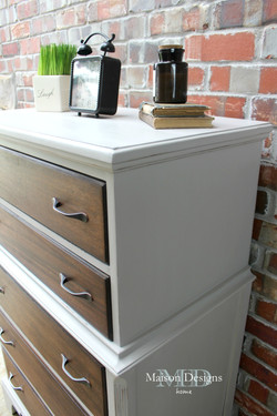 Gray Patina Dresser Makeover