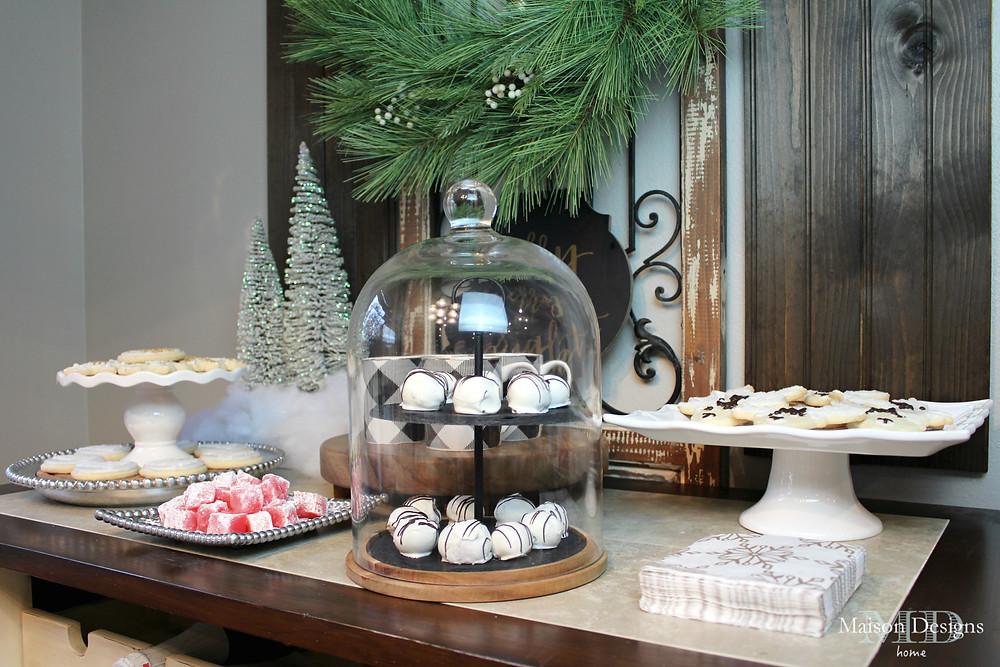 Narnia Inspired Christmas Decor