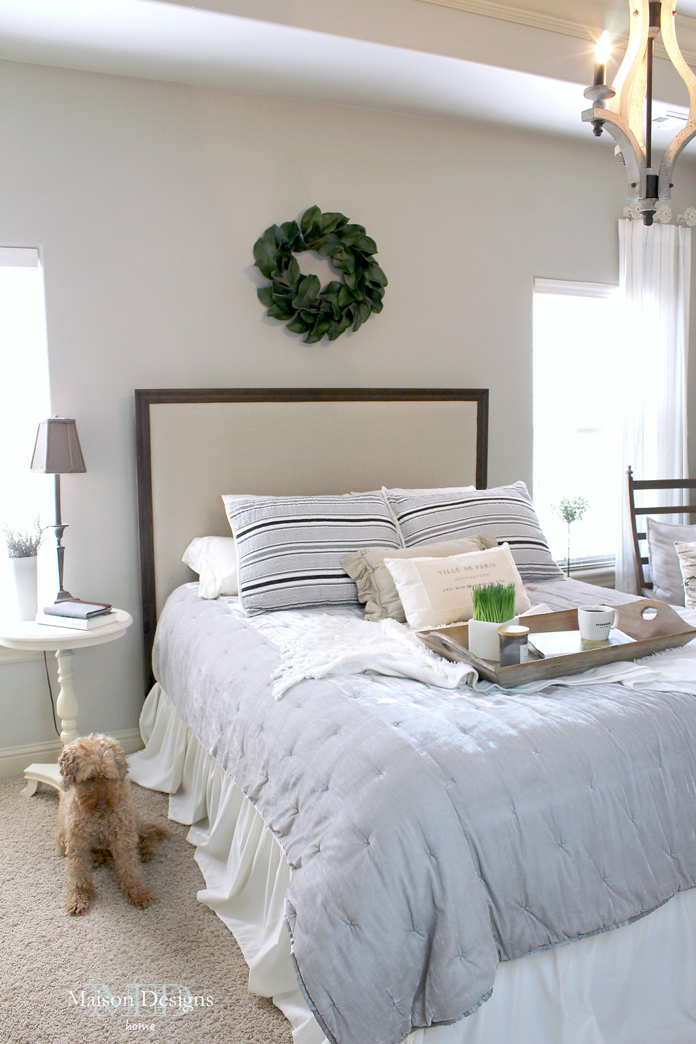 French Country Bedroom Inspiration-Maison Designs Home
