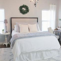 Master Bedroom & DIY Hardwood Floor Install