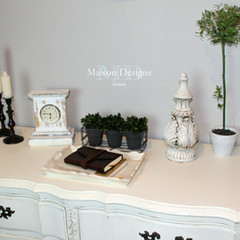 ~White French Provincial Dresser~A Makeover Story