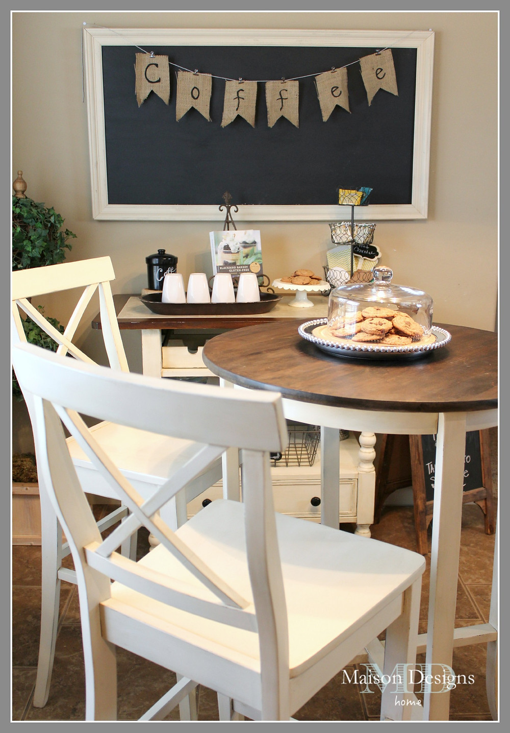 Bistro Set Makeover Maison Designs Home