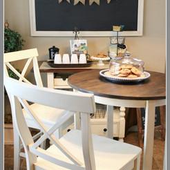 Bistro Table Set Makeover & a little rest...