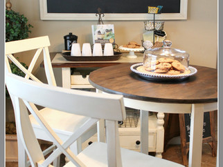 Bistro Table Set Makeover & a little rest...
