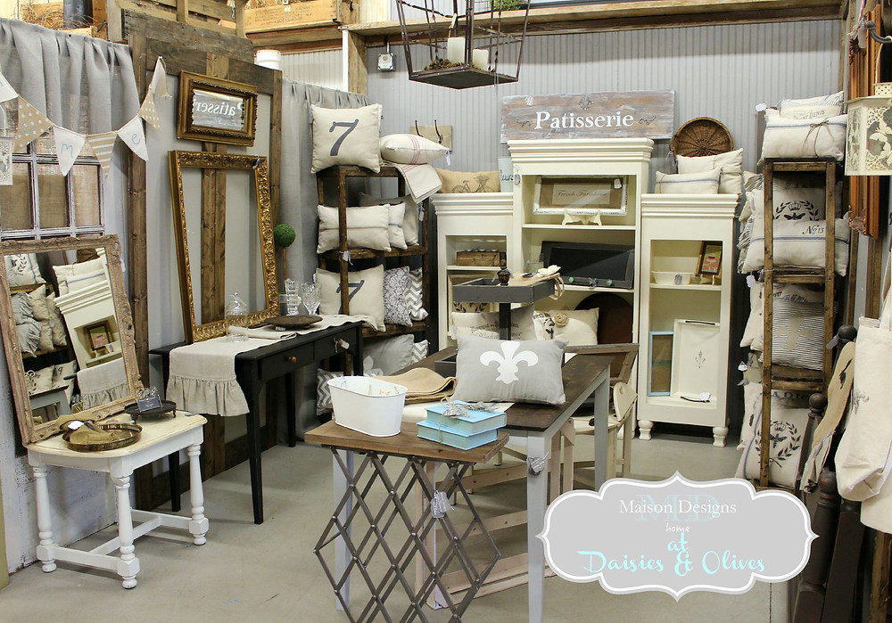 Decorating an Antique Booth - Maison Designs Home