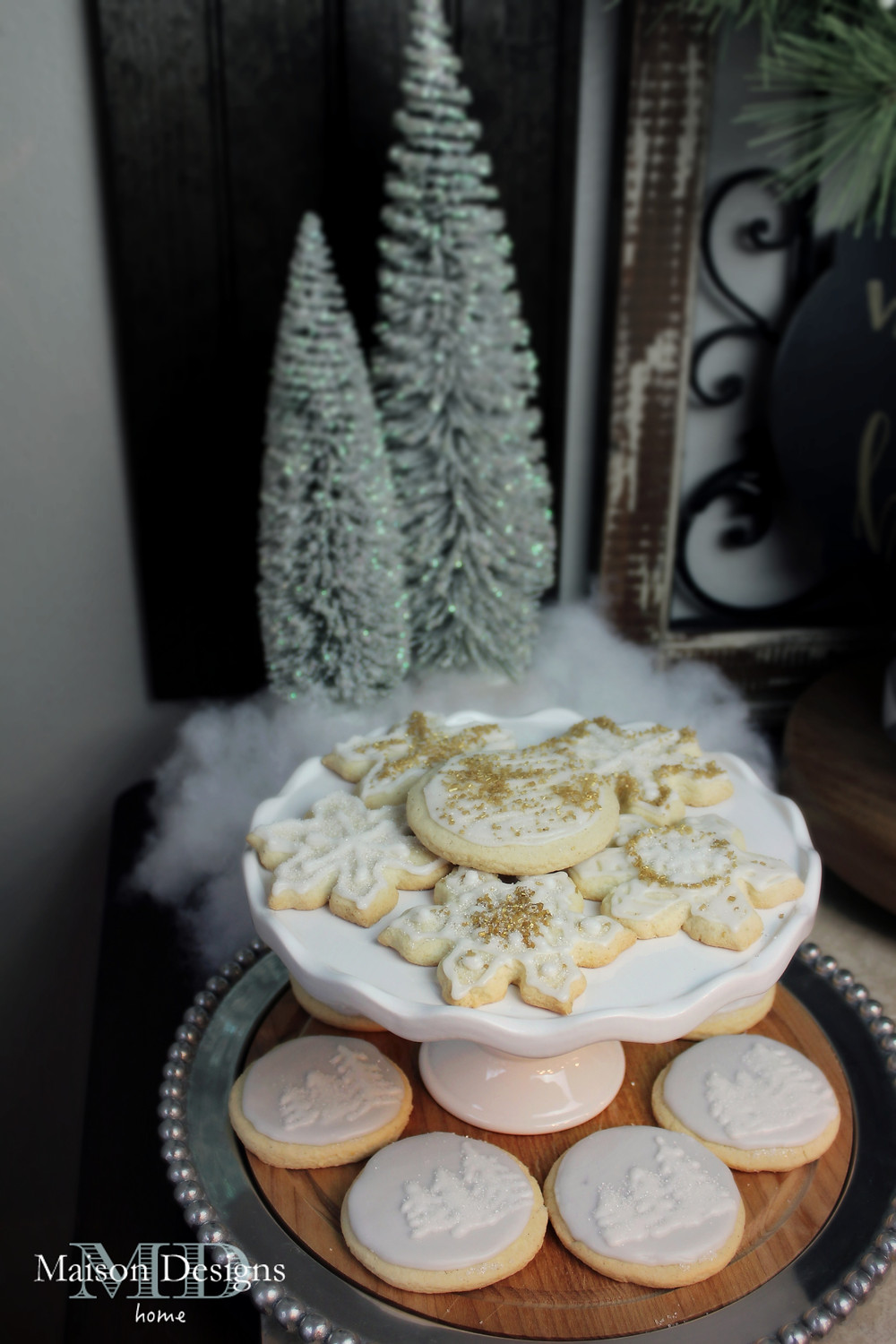 Narnia Inspired Christmas cookies