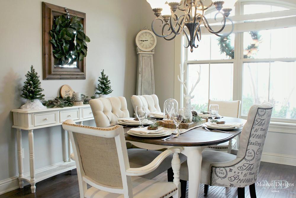 Dining Room Christmas Home Tour