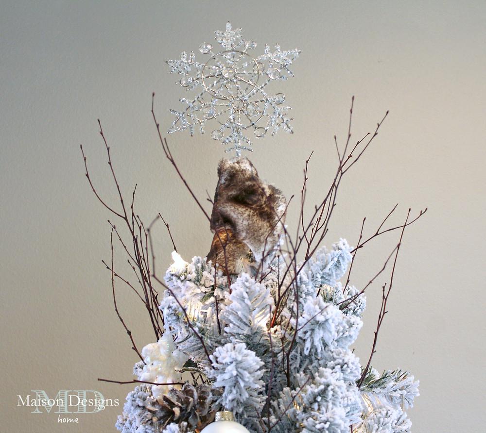 Narnia~Inspired christmas tree topper